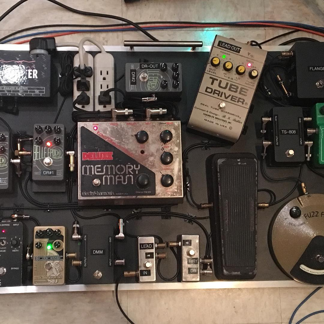 Eric Johnson Pedalboard 2017