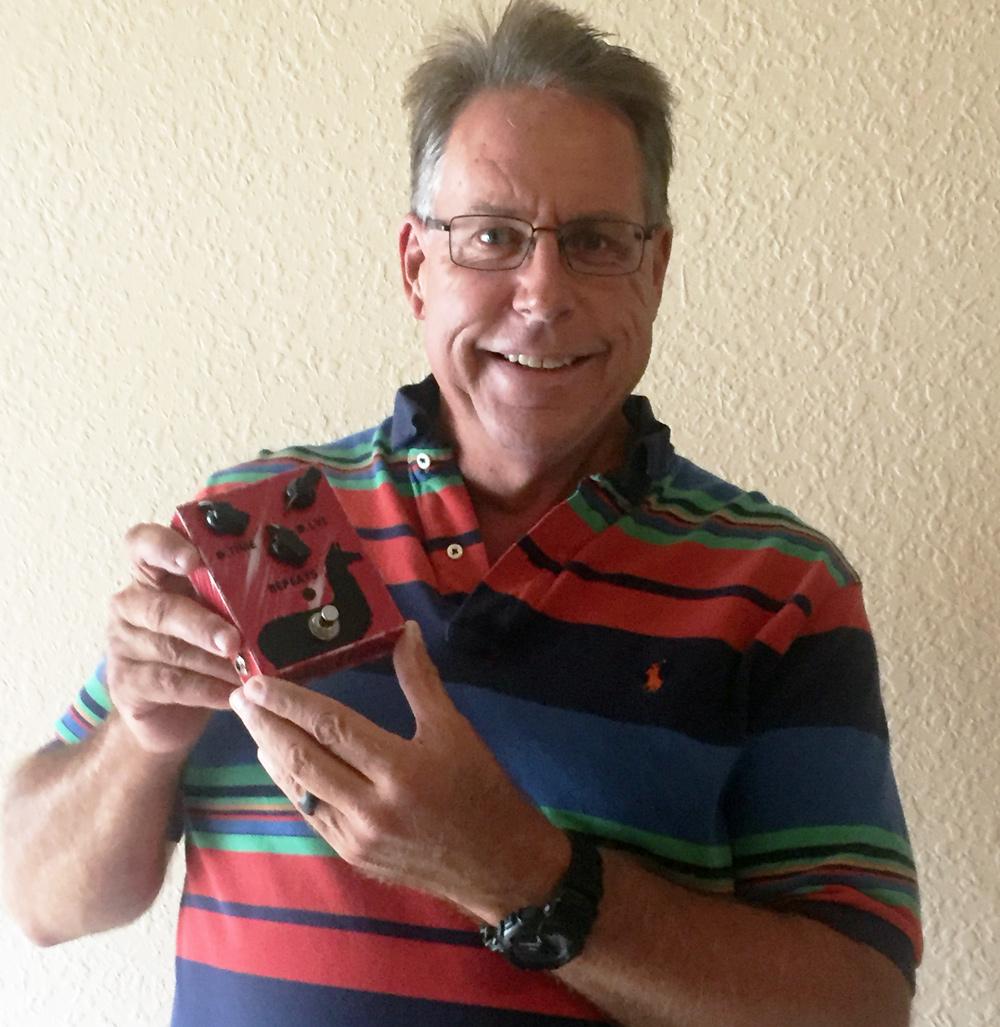 JAM Pedals Delay Llama Winner