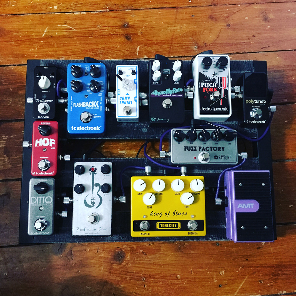 Pedal Line Friday - 6/16 - Ross Edwards