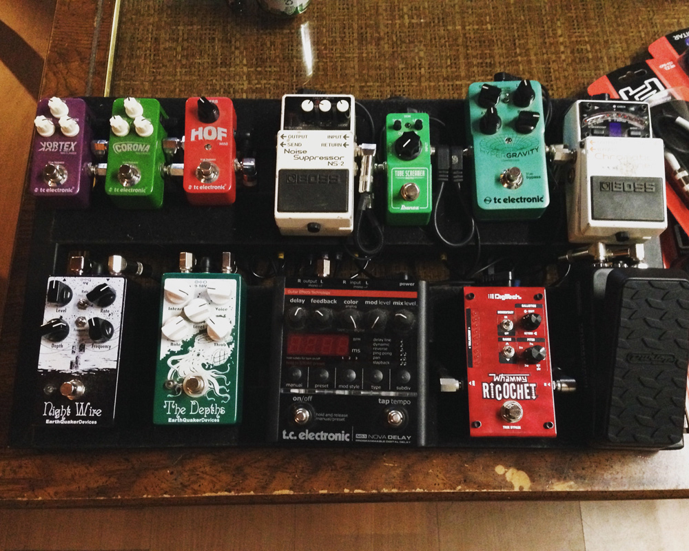 Pedal Line Friday - 7/7 - Dan Carroll