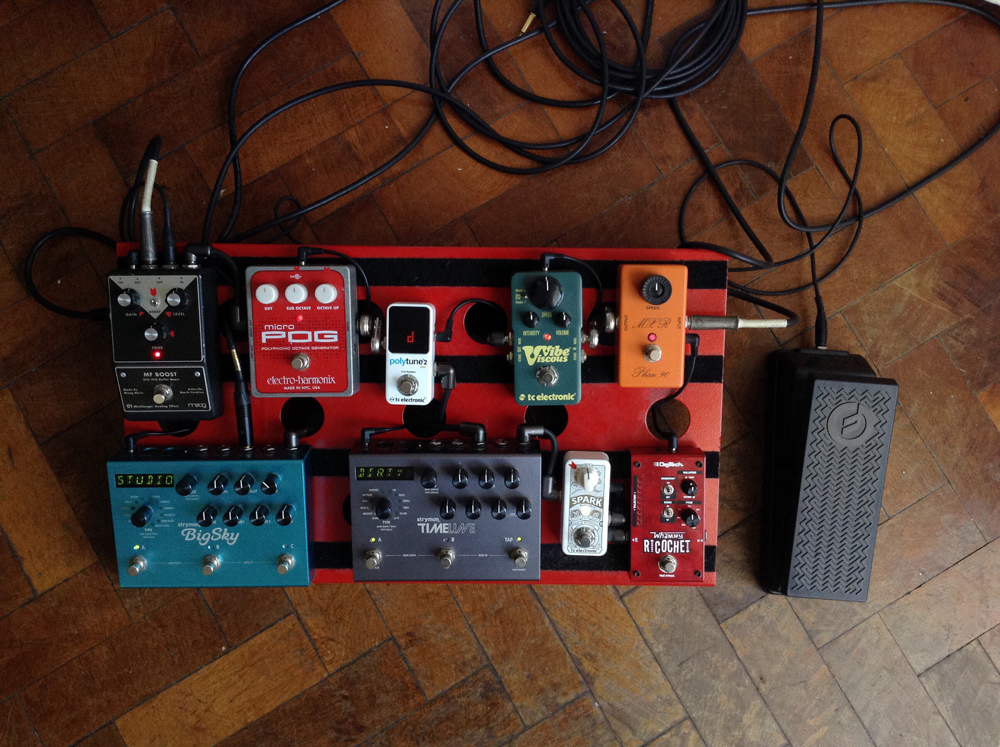 Pedal Line Friday - 8/4 - Luciano Tirabassi