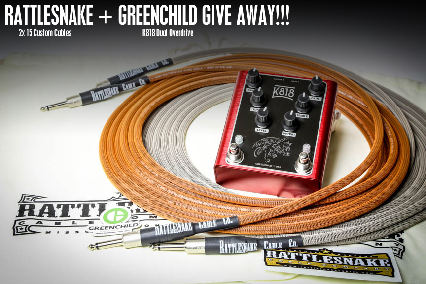 Greenchild / Rattlesnake Cable Company Give Away