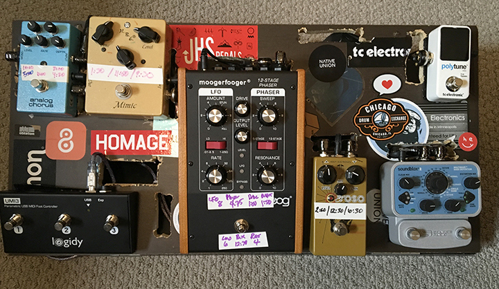 Pedal Line Friday - 9/29 - Tony Long