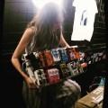 Sadie Dupuis - Speedy Ortiz - Pedalboard