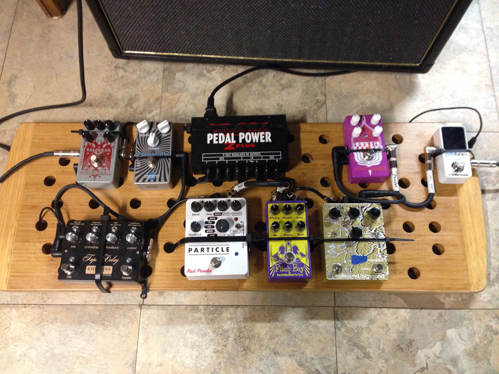 Pedal Line Friday - 12/8 - Michael Kay