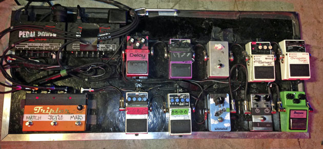 Billy Duffy - The Cult - Rig Rundown