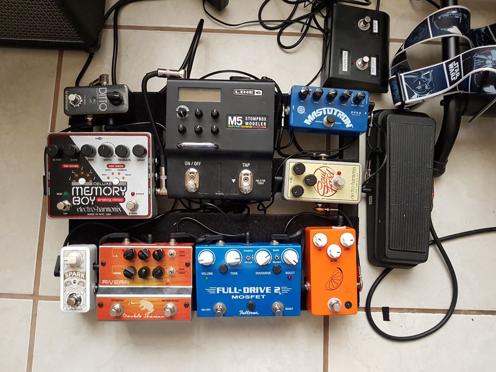 Pedal Line Friday - 2/2 - Javier Arias
