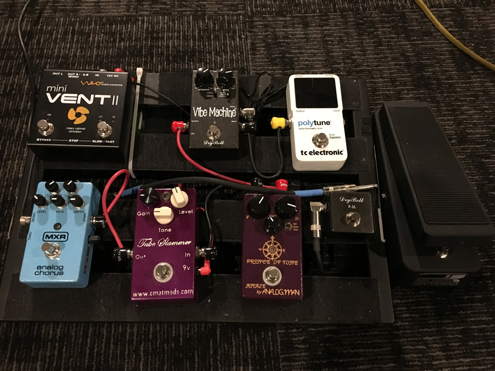 Pedal Line Friday - 3/9 - Matthew Peters