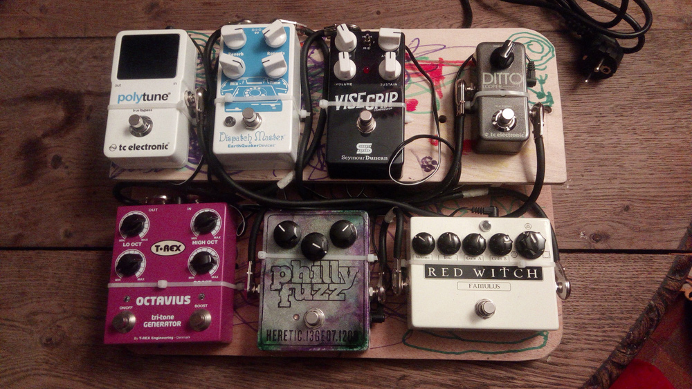 Pedal Line Friday - 4/20 - David Clabaut