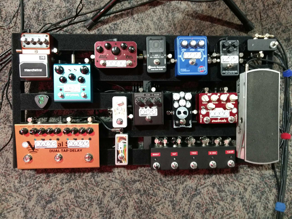 Pedal Line Friday - 5/4 - Bruce Arensmeyer