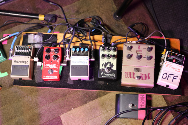 Rig Rundown of The Breeders (Kelley Deal and Josephine Wiggs)