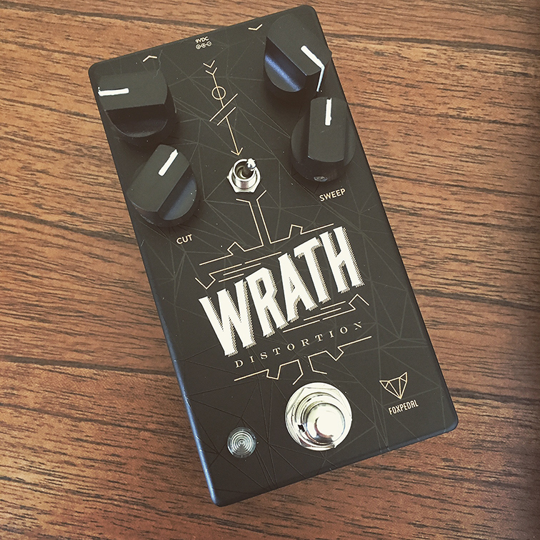 Guest Post: Foxpedal Wrath Distortion Pedal