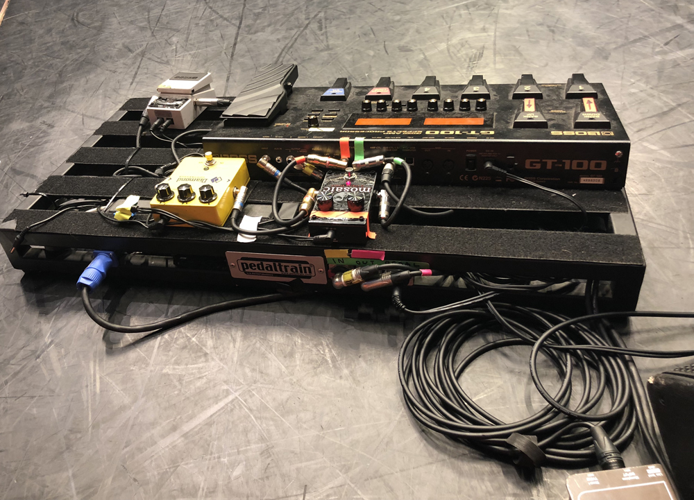 Johnny Marr Pedalboard 2018