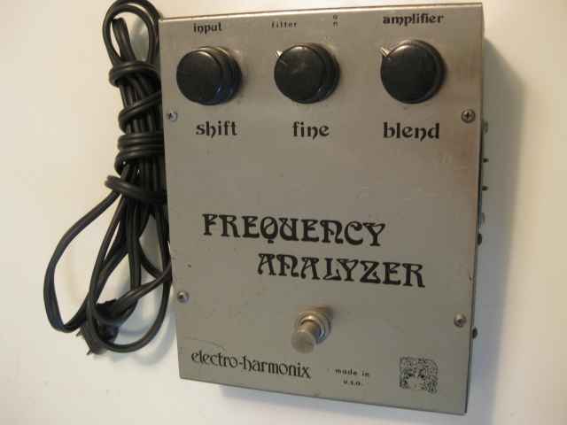 EHX Frequency Analyzer