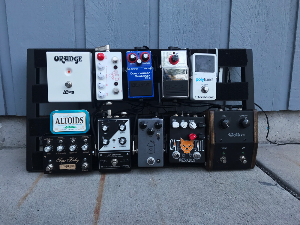 Pedal Line Friday - 7/27 - Riley Haynie
