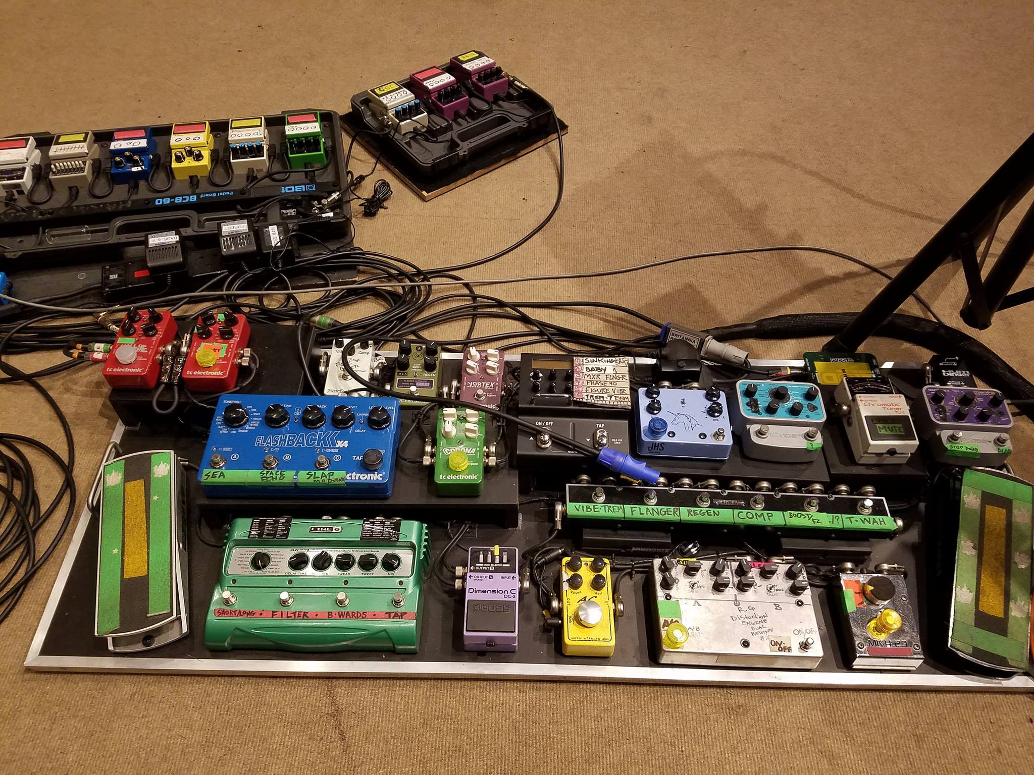 The Cure - Robert Smith / Reeven Gabrels Boards
