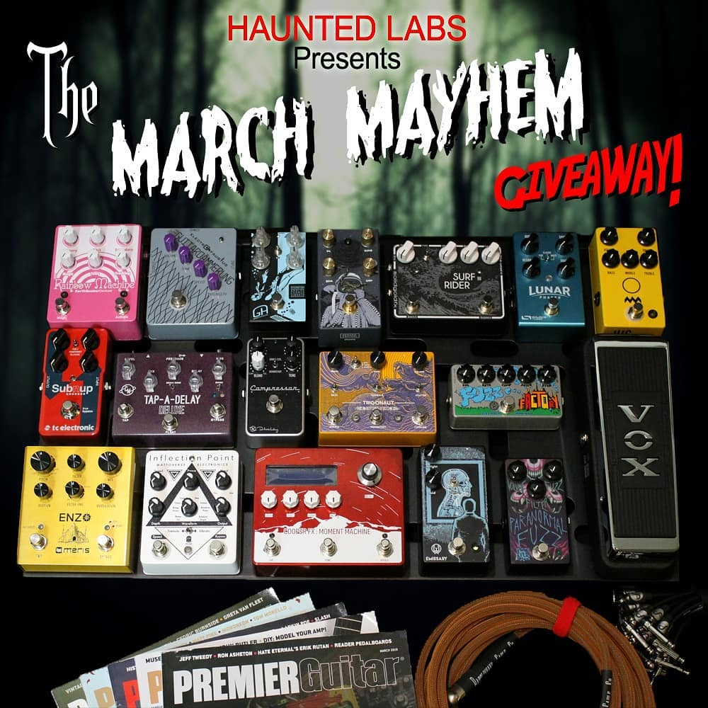 Haunted Labs MARCH MAYHEM Give Away