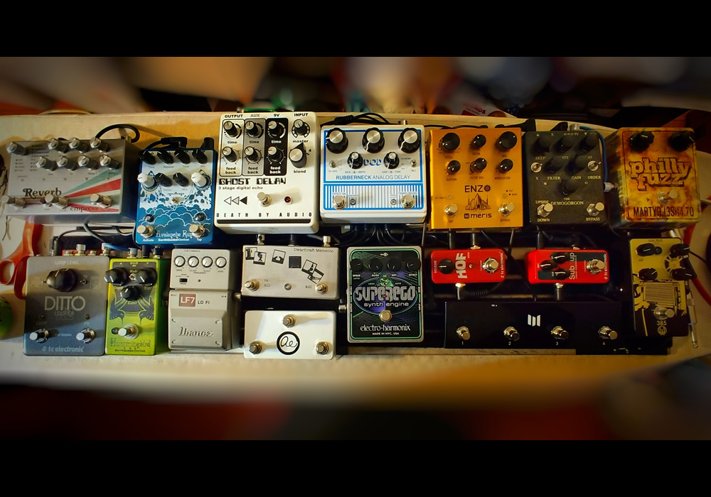Pedal Line Friday - 3/22 - Mark Ruark