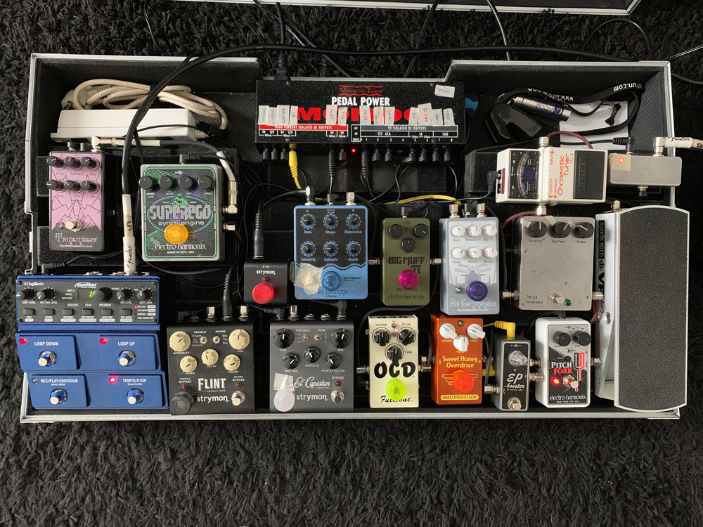 Pedal Line Friday - 9/27 - Jean-Thomas Bablet