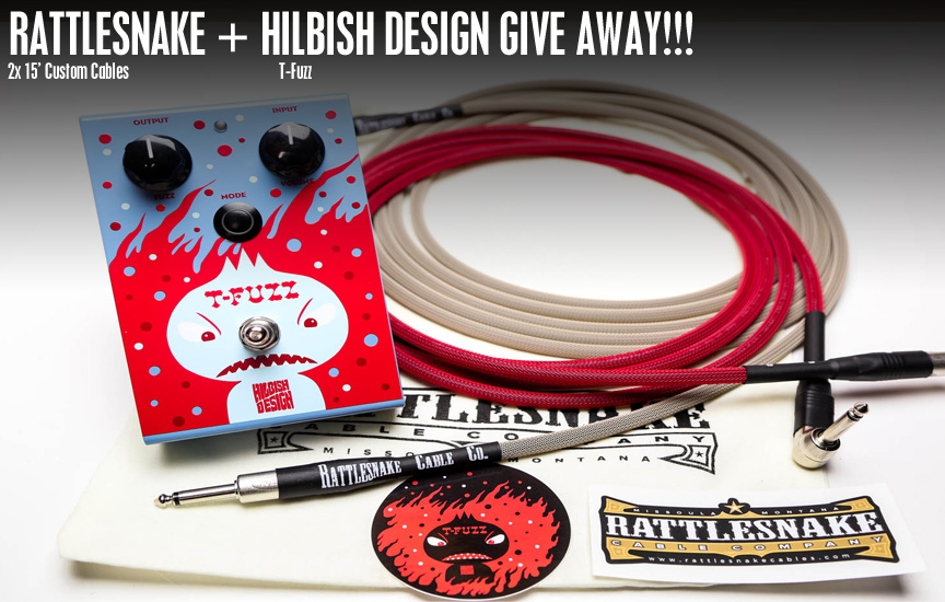 Hilbish Design / Rattlesnake Cable Company Give Away