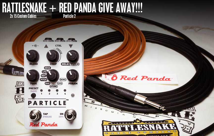 Rattlesnake Cable Company / Red Panda Combined Give Away